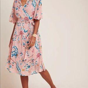 Anthropologie Maeve Adelaide Wrap Dress